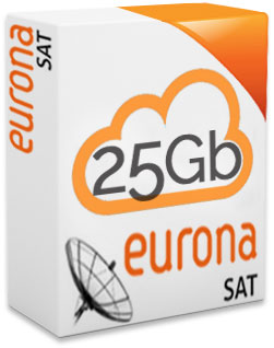 Eurona SAT 25+15GB