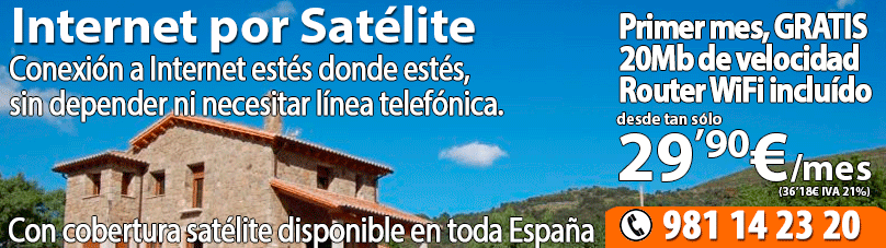 Oferta internet Satelite