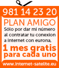 Plan Amigo - 1 mes gratis de Internet por Satélite