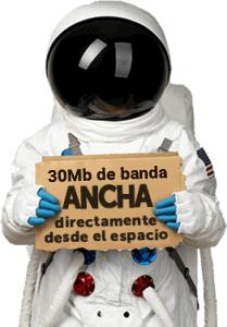 internet satelite 20 mbps de velocidad