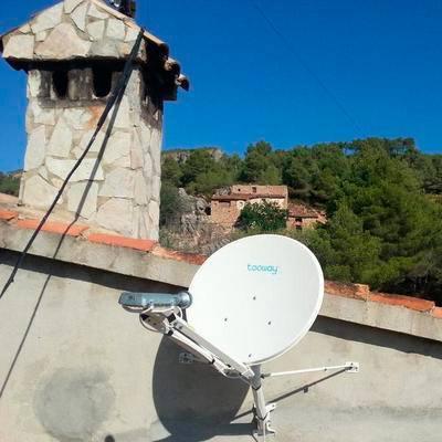 banda ancha rural via satelite