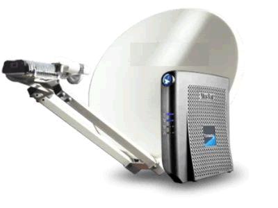 antena internet por satelite