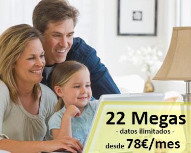 INTERNET SATELITE ILIMITADO 20 MEGAS