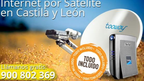 Internet por Satelite en Castilla y Leon